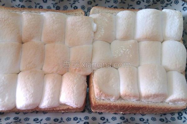 棉花糖土司的做法