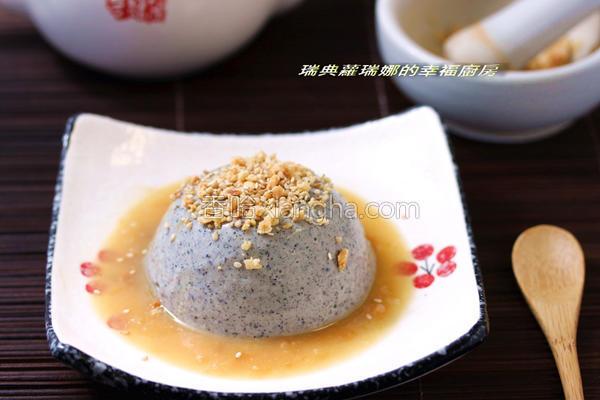 黑玉胡麻豆腐的做法