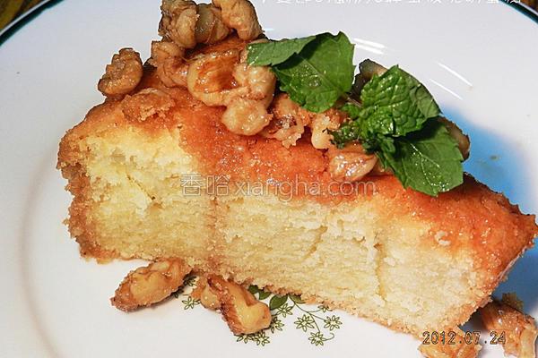 蜂蜜核桃磅蛋糕的做法