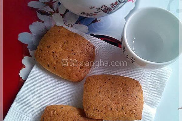 乌龙茶饼干的做法