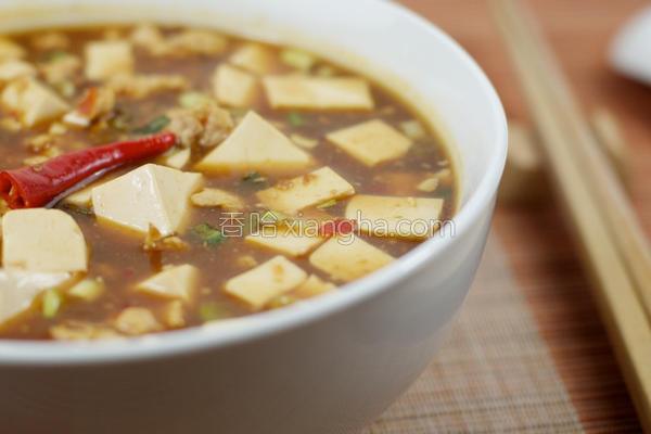 辣料理.麻婆豆腐的做法