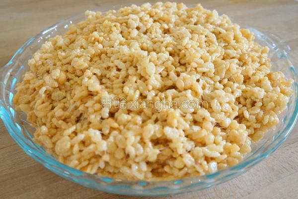 美式棉花糖黏米香的做法