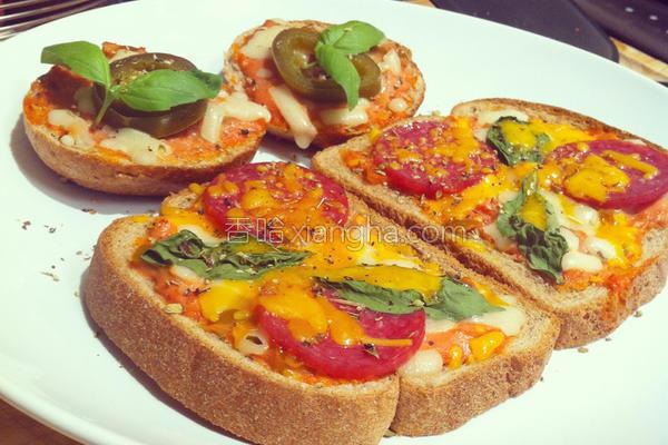 零失败吐司披萨的做法