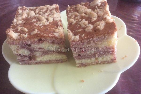 覆盆子蛋糕的做法