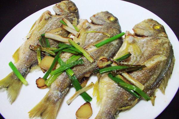葱姜香煎鱼的做法