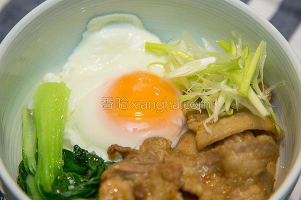 日式烧肉盖饭的做法