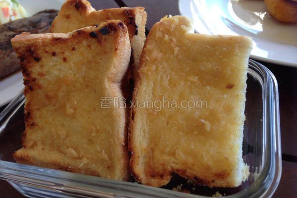 大蒜面包的做法