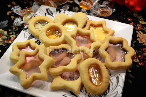 玻璃曲奇饼的做法