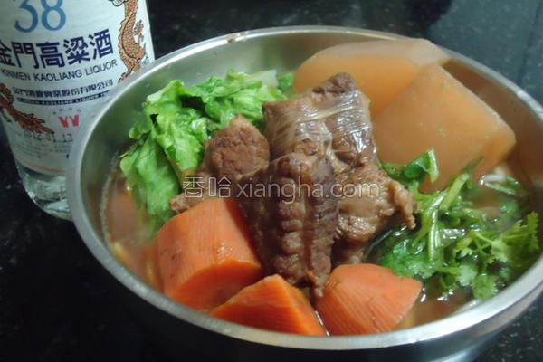 红烧猪肉面的做法