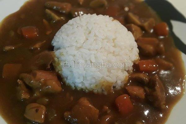 咖哩饭的做法