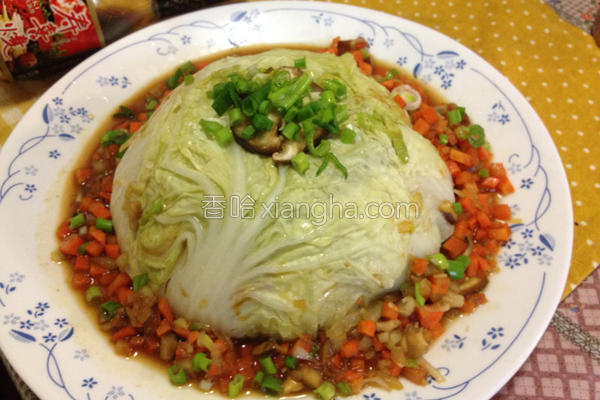 白菜封肉的做法