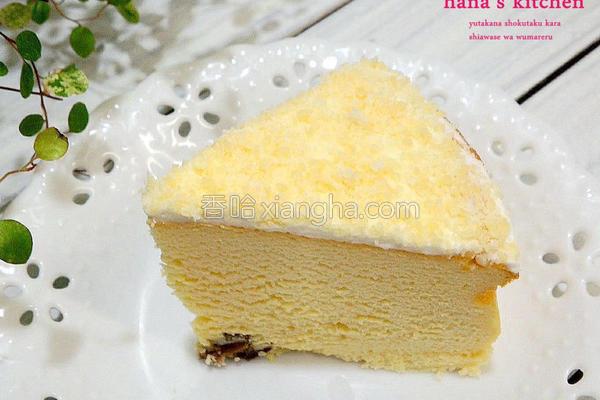 雪花乳酪蛋糕的做法