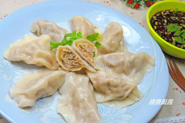 高丽菜猪肉水饺的做法