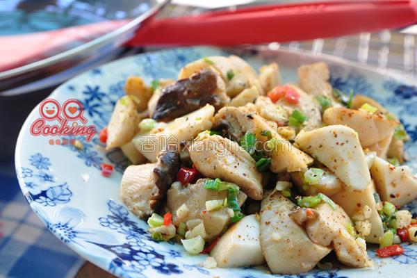 辣味椒盐杏鲍菇的做法