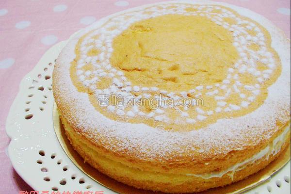 维多利亚海绵蛋糕的做法