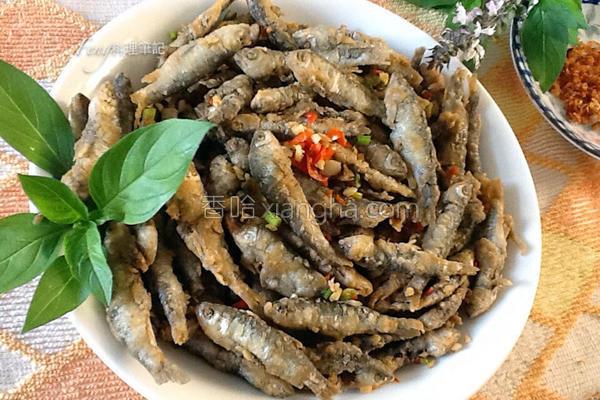 椒盐小溪鱼的做法