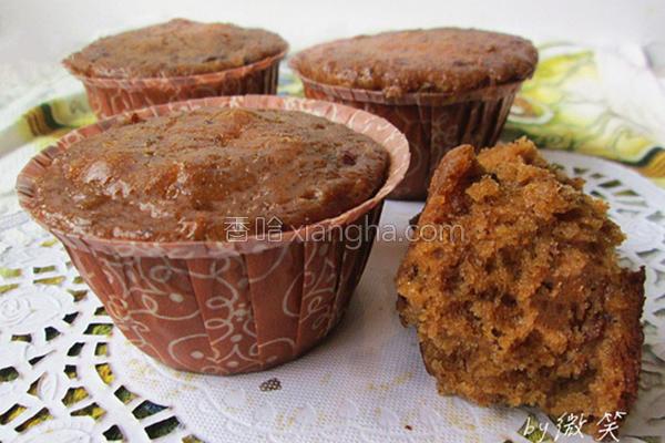 黑糖红枣蛋糕的做法