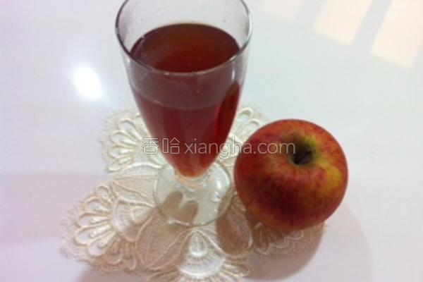 止咳润肺苹果汤的做法