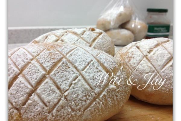 天然酵母核桃面包的做法