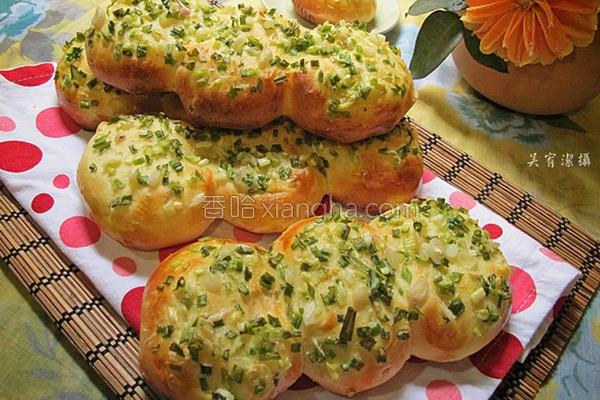 细香葱面包的做法