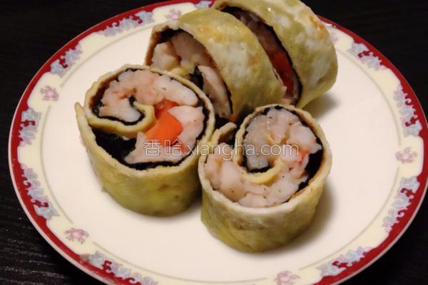 凤凰虾卷的做法