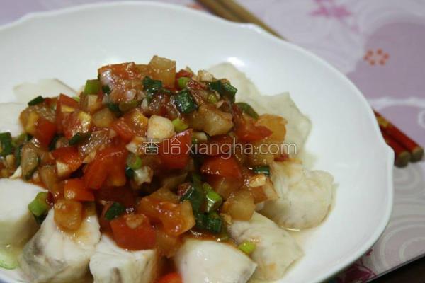 茄汁鱼块的做法