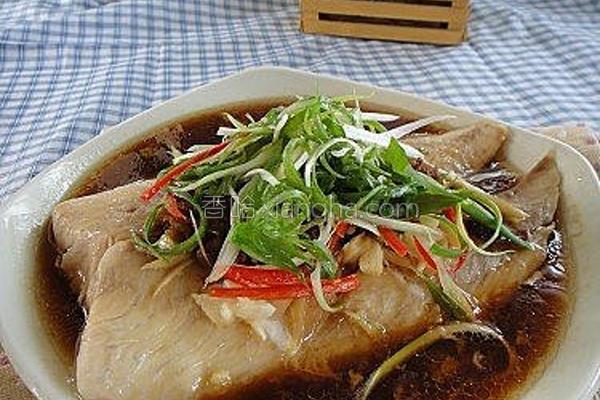 xo干贝酱蒸鲷鱼的做法
