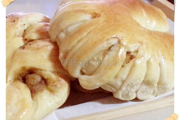 花花咖哩面包的做法