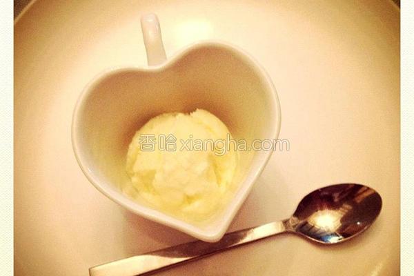 芒果柠檬冰淇淋的做法