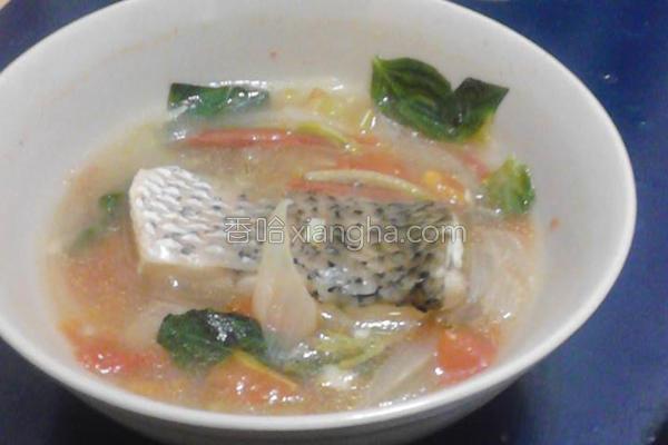 西式鲈鱼汤的做法