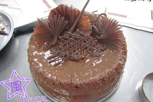 巧克力戚风蛋糕的做法