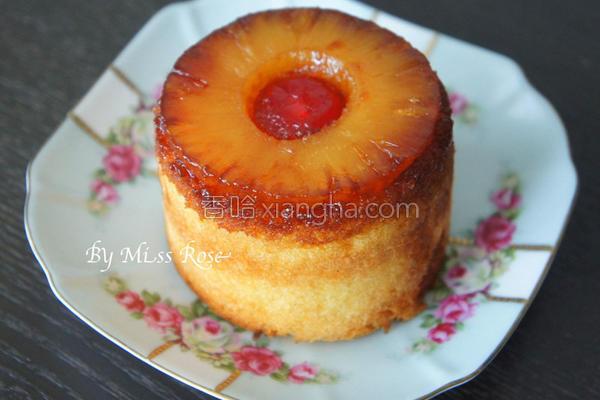 凤梨反转蛋糕的做法