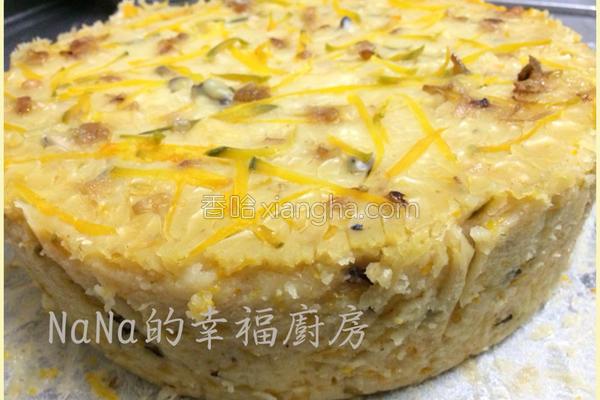 金黄南瓜糕的做法