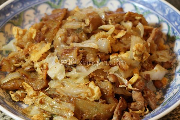 葱油炒饼的做法