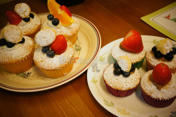 cake杯子蛋糕的做法