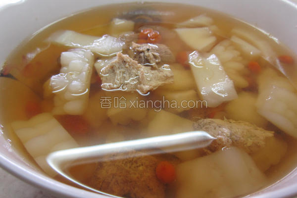 苦瓜素羊肉汤的做法