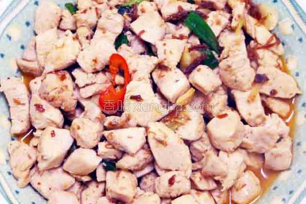 XO酱炒鸡肉的做法