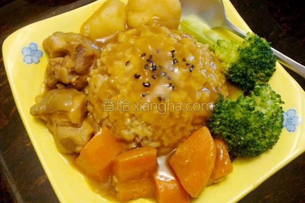 ■日式鸡肉咖哩■的做法