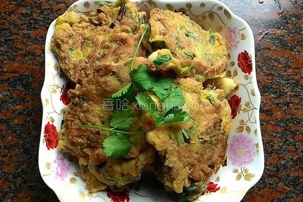 海鲜蔬菜煎饼的做法