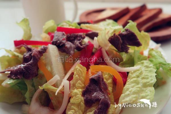 泰式牛肉沙拉的做法