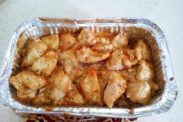 美奶滋焗烤鸡肉的做法