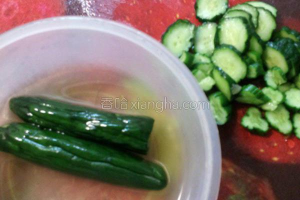 味噌糖渍黄瓜的做法