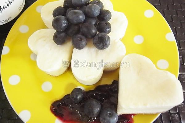蓝莓酸奶乳酪蛋糕的做法