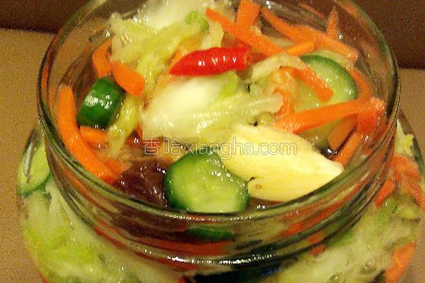 台式梅子泡菜的做法