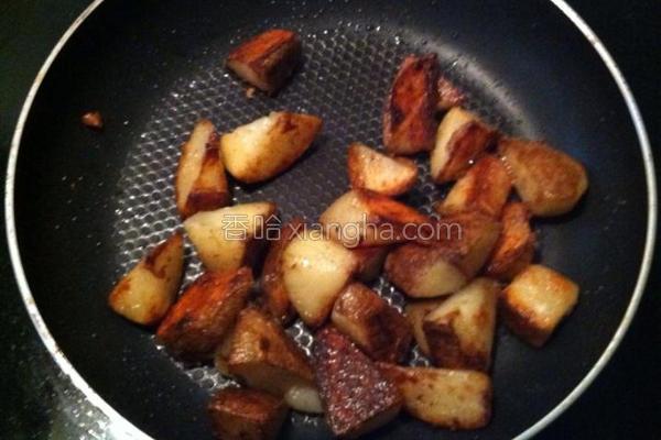 超简易炒马铃薯块的做法