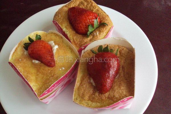 北海道戚风小蛋糕的做法