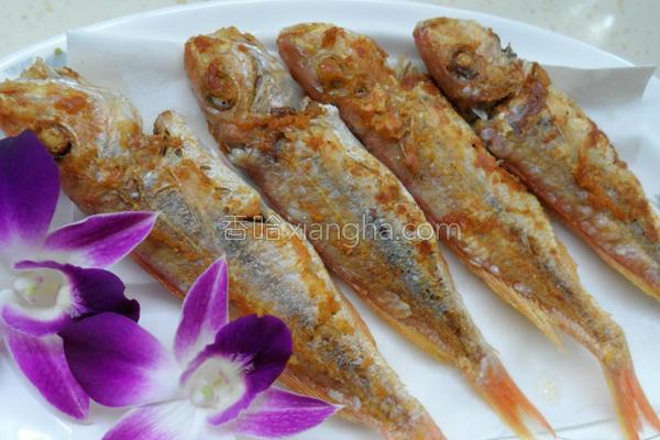 香煎金线鱼的做法
