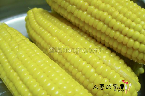 蒸玉米的做法