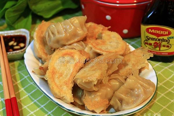洋葱猪肉煎饺的做法