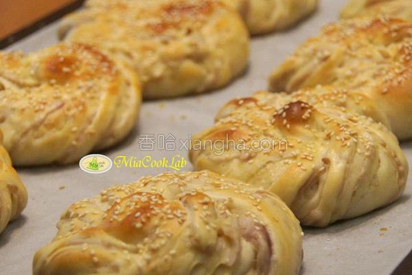 面包卷的做法